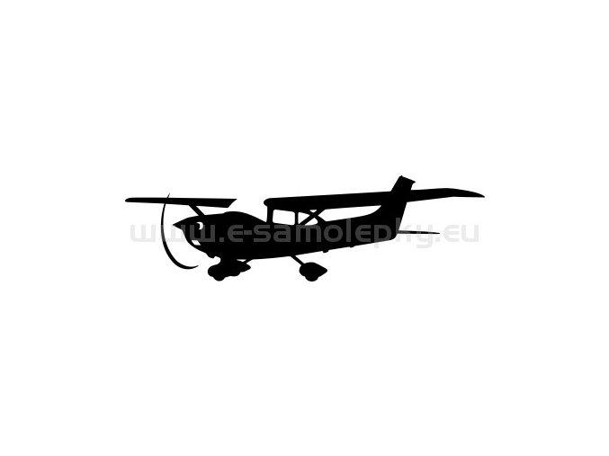 Samolepka - Letadlo Cessna 182