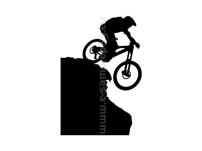 Samolepka - Cyklista 14