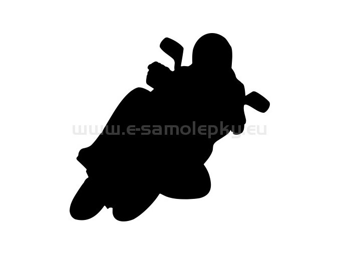 Samolepka - Motocyklista 43