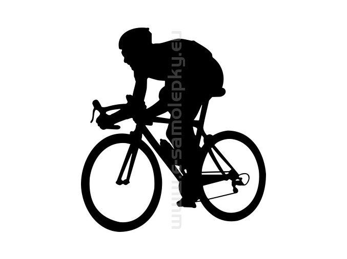 Samolepka - Cyklista 15