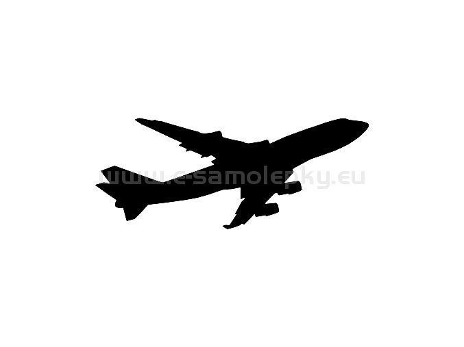Samolepka - Letadlo 16