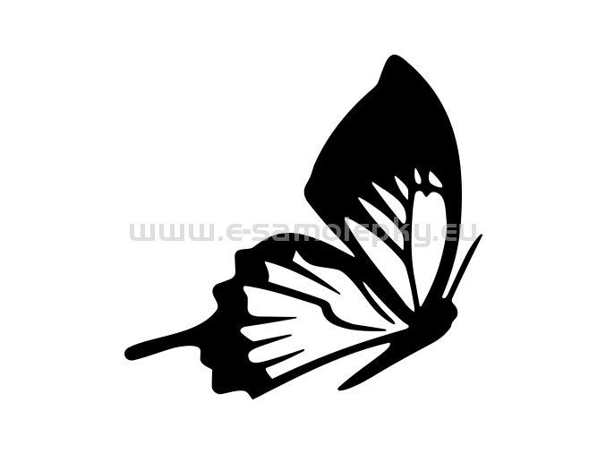 Samolepka - Motýl 03
