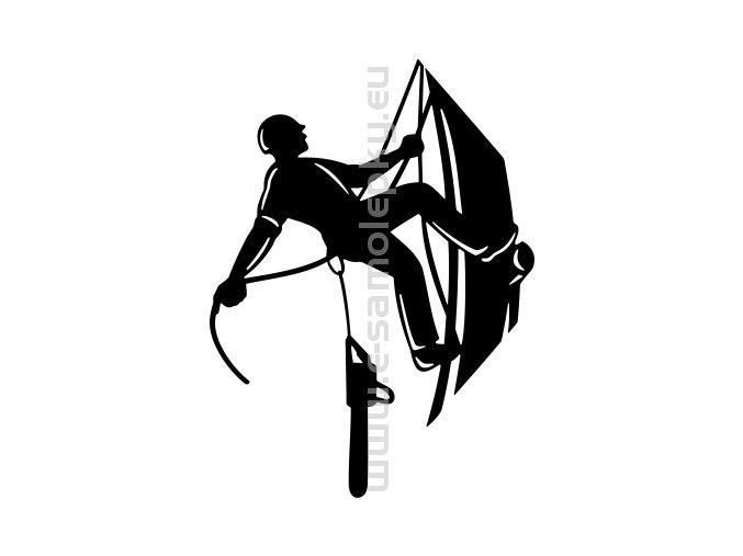 Samolepka - Stromolezec