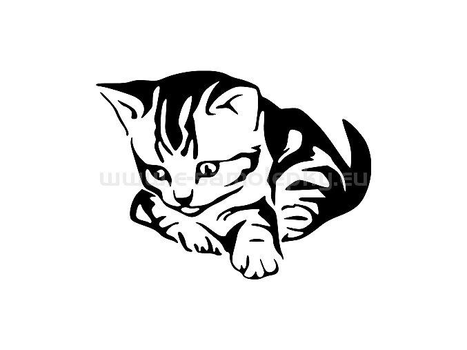 Samolepka - Kočka 28