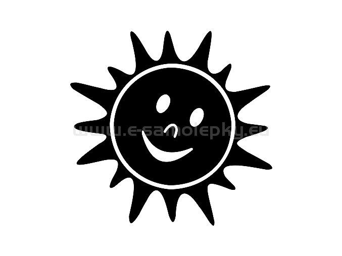 Samolepka - Sluníčko