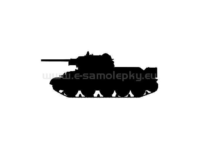Samolepka - Tank 12