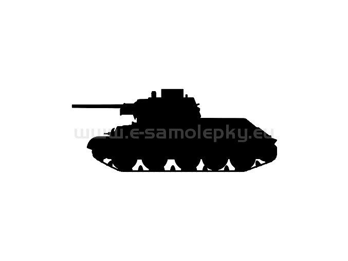 Samolepka - Tank 13