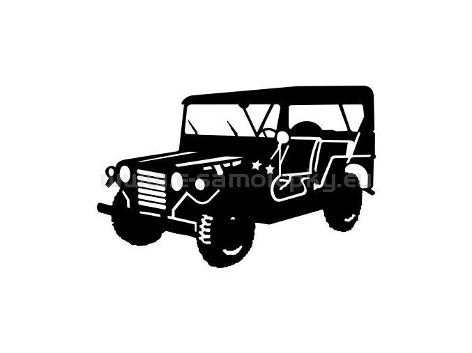 Samolepka - Ford Mutt