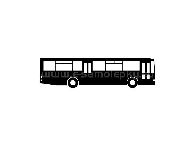 Samolepka - Autobus 12