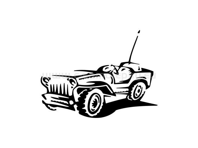 Samolepka - Ford Mutt 02