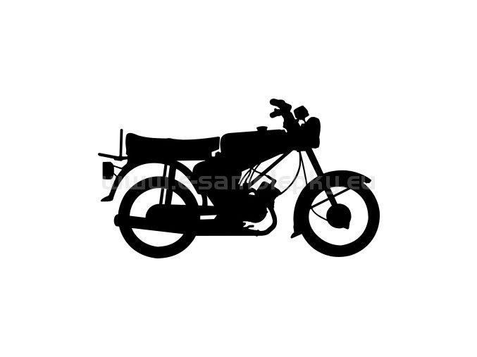 Samolepka - Simson S 51 Electronic