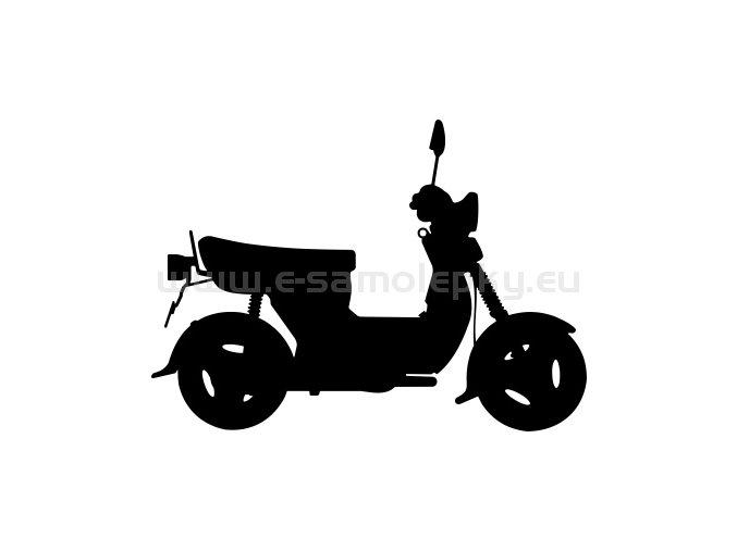 Samolepka - Simson SR 50 Scooter