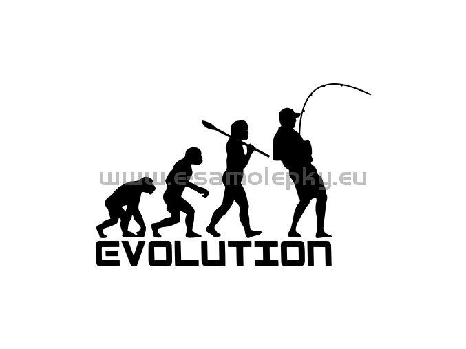 Samolepka Rybar 02 evoluce 02