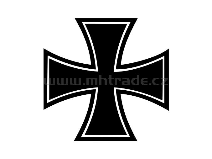 Samolepka Maltezsky kriz 04