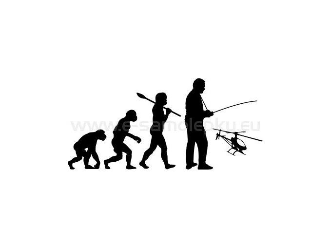Modelar vrtulnik evoluce