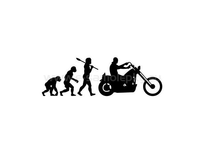 Motocyklista 17 evoluce