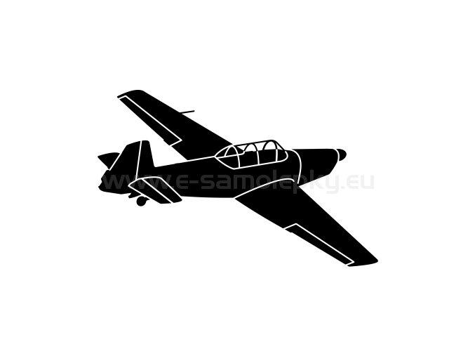 Letadlo Zlin 526 02