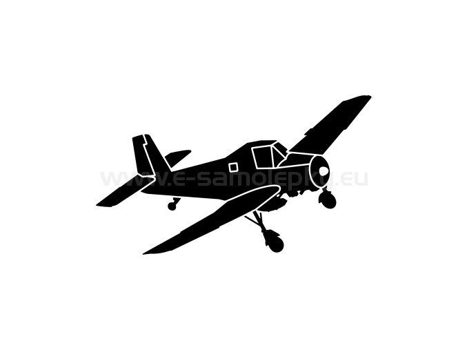 Letadlo Zlin Z 37a cmelak