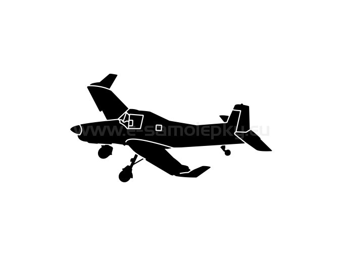 Letadlo Zlin Z 137T