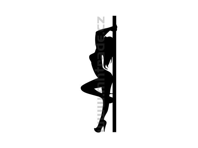 Samolepka Poledance 04