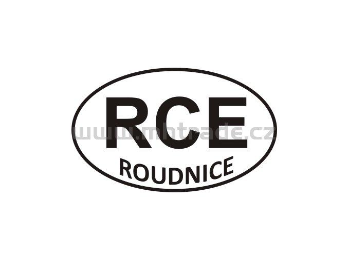 Samolepka - PZ - Roudnice - RCE