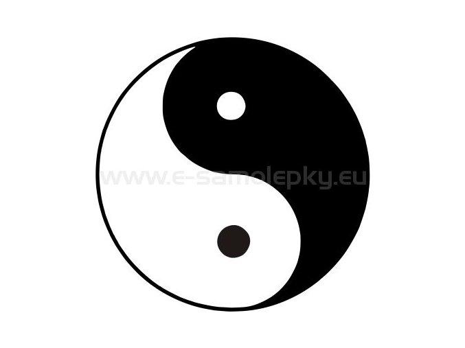 Samolepka - Yin Yang