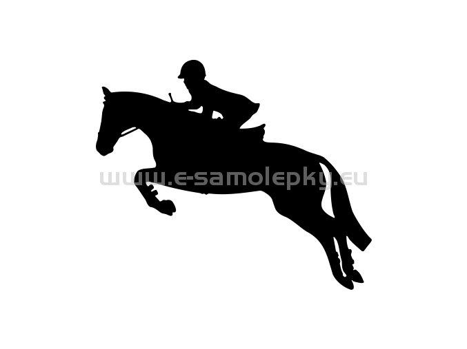 Samolepka - Kůň 56