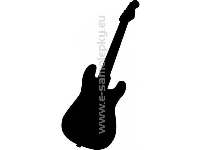 Samolepka - Bass kytara