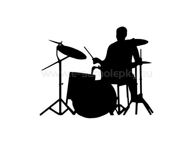 Samolepka - Bubeník