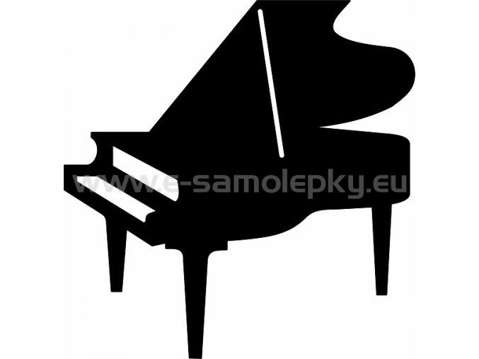Samolepka - Klavír