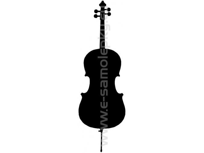Samolepka - Violoncelo