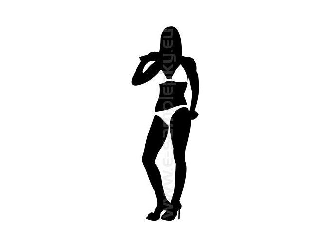 Samolepka - Woman 05