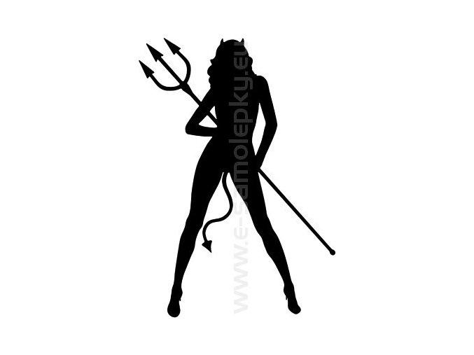 Samolepka - Woman 06