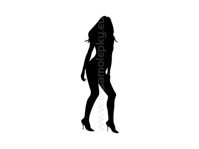 Samolepka - Woman 16