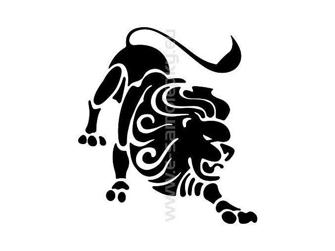 Samolepka - Zodiac- Lev