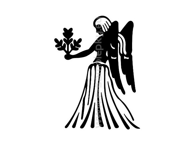 Samolepka - Zodiac- Panna