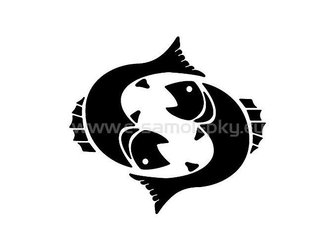 Samolepka - Zodiac- Ryby