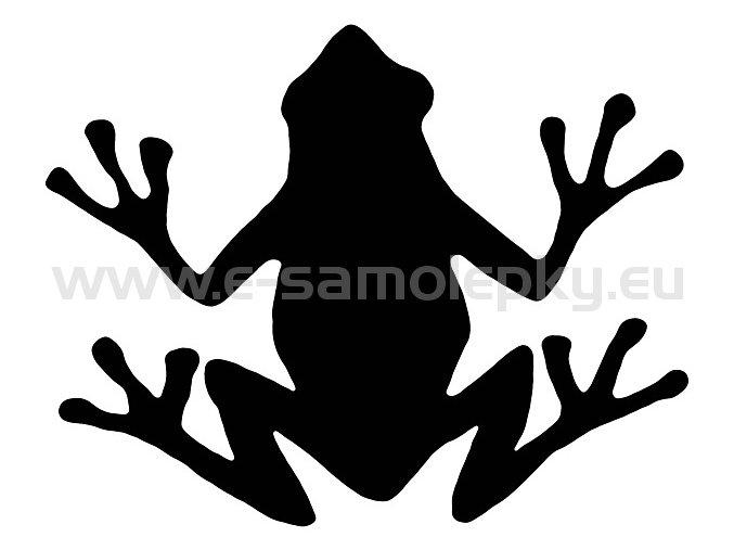 Samolepka - Žába