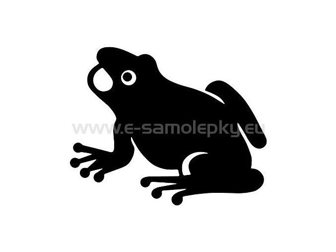 Samolepka - Žába 02
