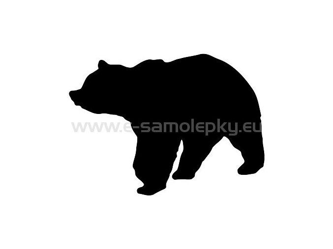 Samolepka - Medvěd 02