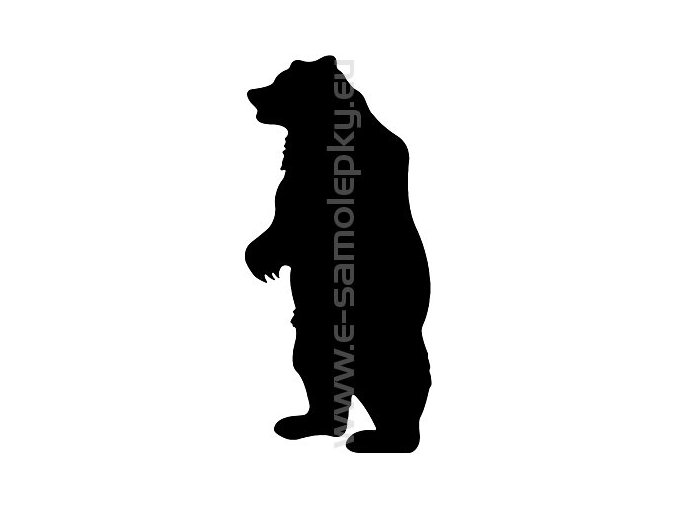 Samolepka - Medvěd 03
