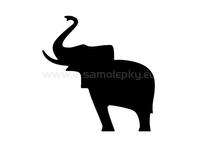 Samolepka - Slon 02