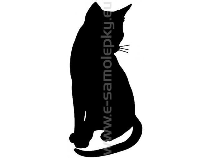 Samolepka - Kočka 04