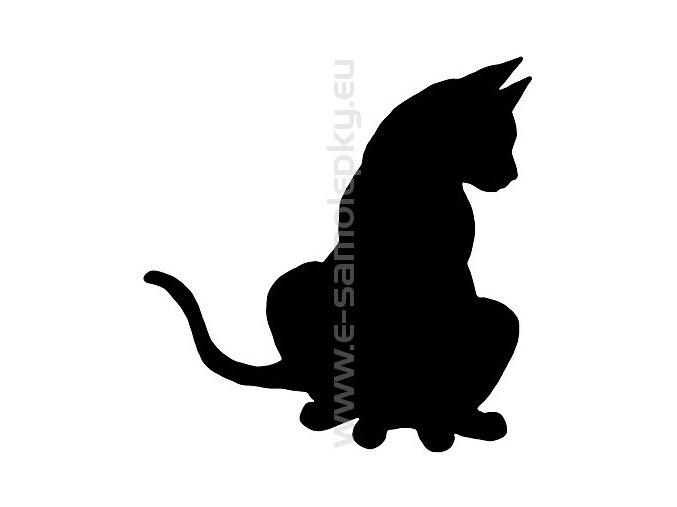 Samolepka - Kočka 08