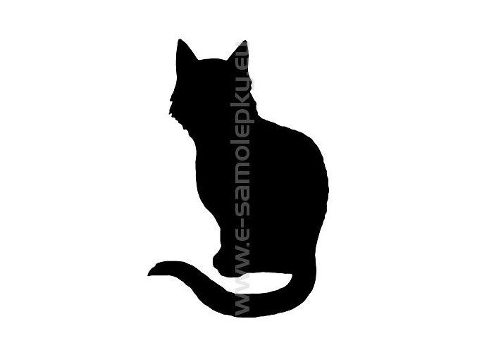 Samolepka - Kočka 09