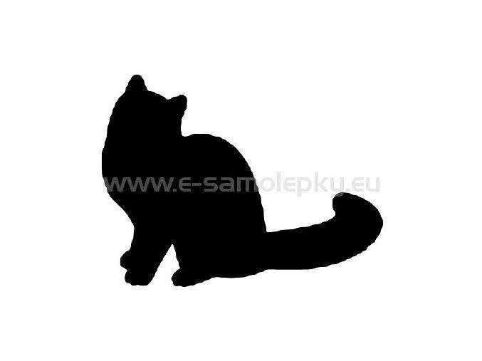 Samolepka - Kočka 11