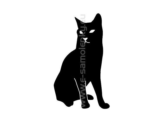 Samolepka - Kočka 15