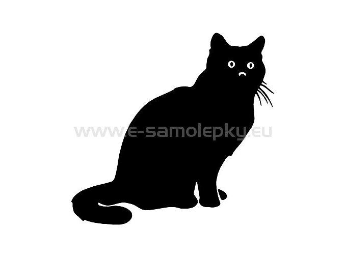 Samolepka - Kočka 16