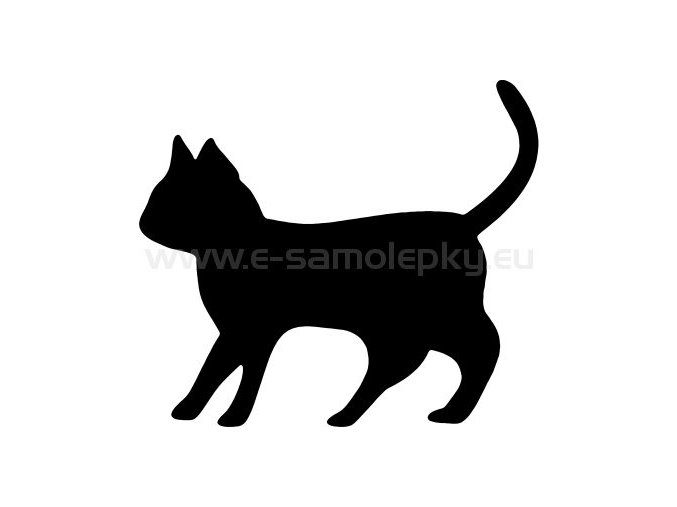 Samolepka - Kočka 18