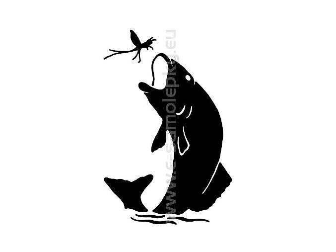 Samolepka - Ryba 03